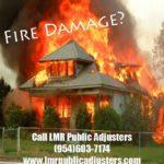 Fire Damage Insurance Adjuster
